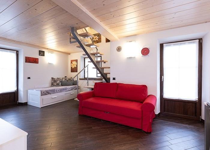 Interni appartamenti a Livigno